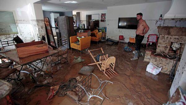 Последствия наводнения на юге Франции. Архивное фото