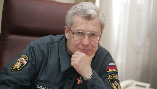 Первый замдиректора ФГУ Агентство Эмерком Юрий Бражников. Архивное фото