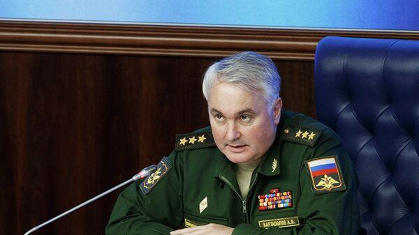 Начальник Главного оперативного управления Генерального штаба Вооруженных сил РФ Андрей Картаполов