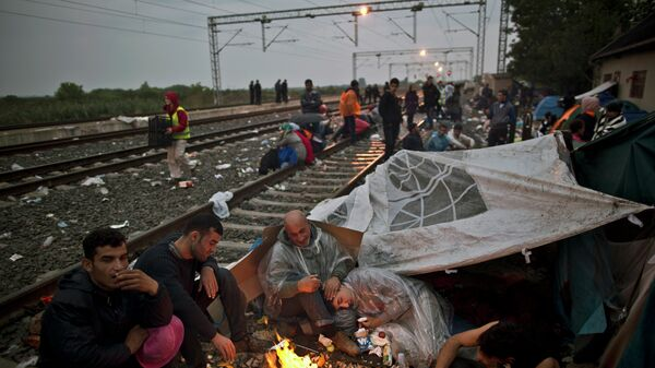 Мигранты в Хорватии