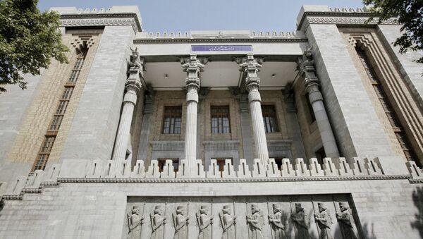 Здание Министерства иностранных дел Ирана. Архивное фото