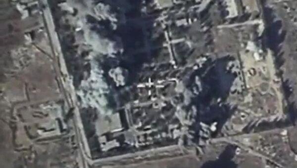 Российская боевая авиация нанесла удары по лагерю подготовки боевиков Исламского государства в провинции Идлиб. Архивное фото