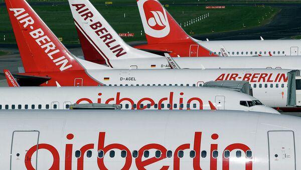 Самолеты авиакомпании Air Berlin. Архивное фото