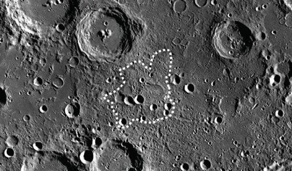 Курган на Луне