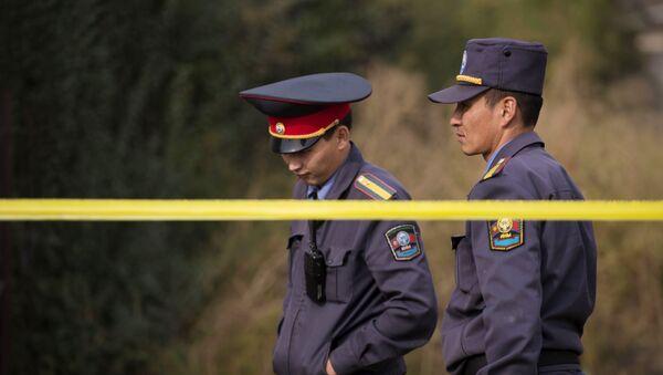 Правоохранительные органы в Киргизии. Архивное фото