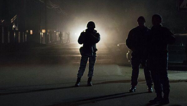 Операция правоохранительных органов Киргизии . Архивное фото