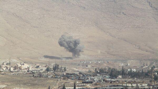 Спецоперация сирийской армии и нацополчения в городе Хараста. Архивное фото