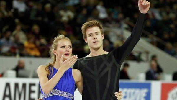Виктория Синицина и Никита Кацалапов на Skate America