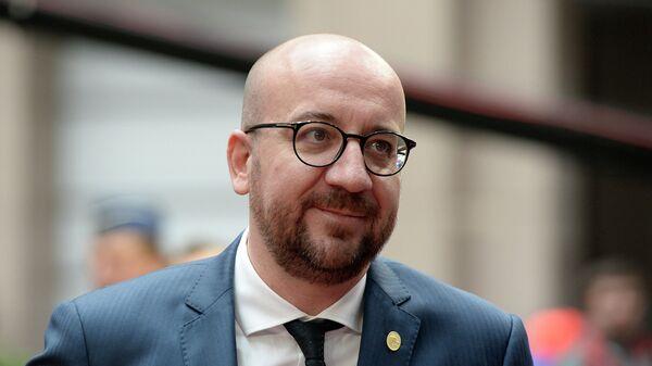 Премьер-министр Бельгии Шарль Мишель. Архивное фото