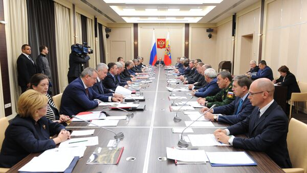 Заседание Совбеза России. Архивное фото