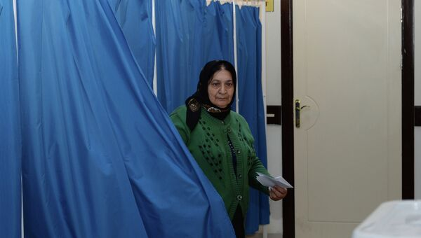 Выборы в Азербайджане. Архивное фото