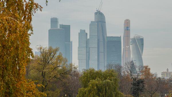 Вид на Московский международный деловой центр Москва-Сити. Архивное фото