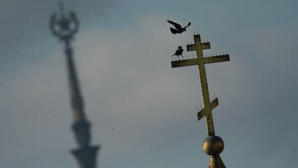 Крест. Архивное фото