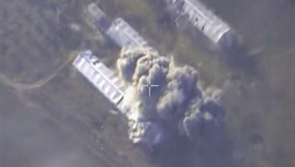 Самолеты российских ВКС нанесли точечный авиационный удар по объекту террористов