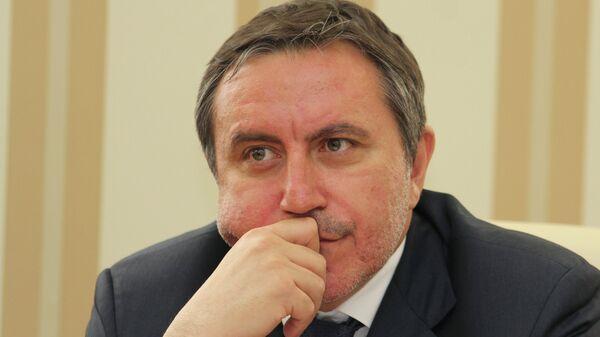 Вице-премьер Республики Крым Ленур Ислямов. Архивное фото