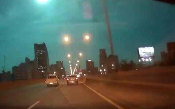 Метеорит над Бангкоком