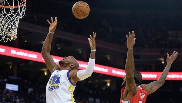 Голден Стэйт и Лос-Анджелес Клипперс в матче НБА
