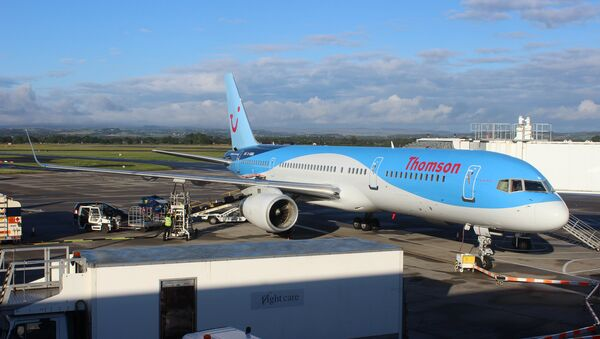 Самолет компании Thomson Airways