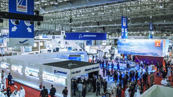 Международная авиационно-космическая выставка Dubai Airshow-2015. Архивное фото