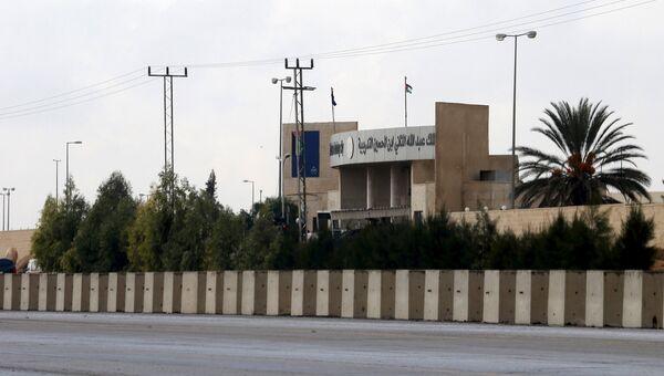 Здание учебного центра полиции в Аммане, где произошла стрельба