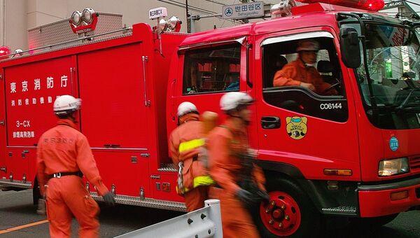 Пожарные, Япония. Архивное фото