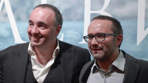 Продюсер Александр Роднянский (слева) и кинорежиссер Андрей Звягинцев. Архивное фото