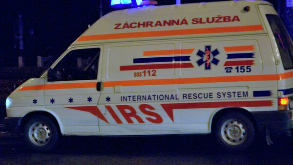 Карета скорой помощи в Словакии