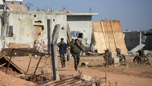 Солдаты Сирийской Арабской Армии (САА). Архивное фото