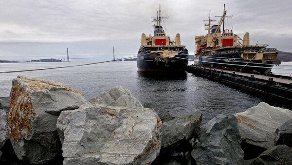 В порту Владивостока. Архивное фото