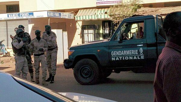 Сотрудники сил безопасности Мали