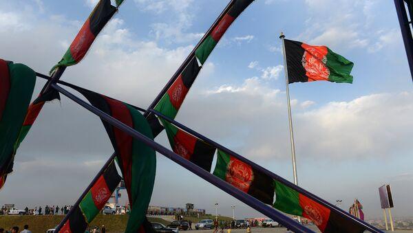Флаг Афганистана