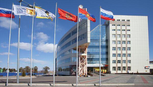 Здание АО Ванкорнефть в Красноярске. Архивное фото