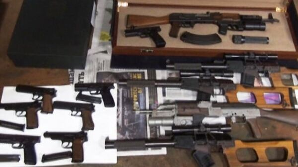 Полицейские обнаружили склад с коллекционным оружием в одном из музеев Москвы
