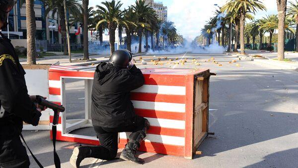 Жасминовая революция в Тунисе