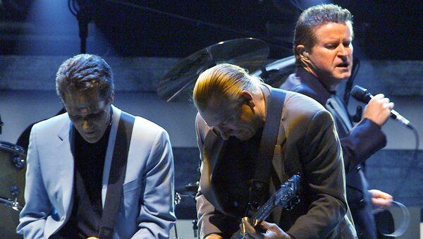 Участники рок-группы The Eagles. Архивное фото