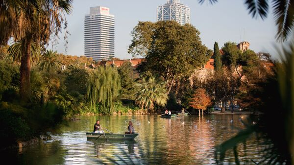 Парк Сьютаделья в Барселоне