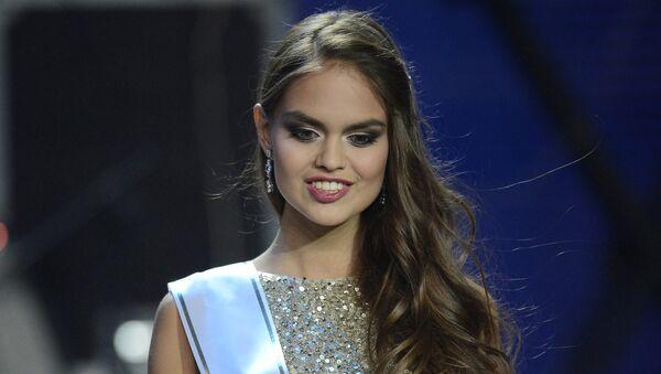 Первая вице-мисс национального конкурса Мисс Россия 2015 Владислава Евтушенко
