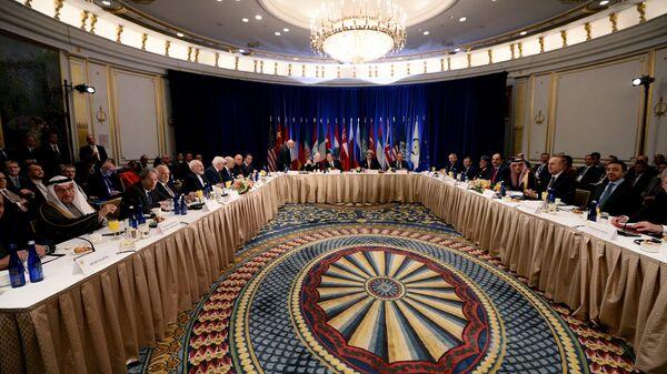 Члены Совета Безопасности ООН в Нью-Йорке