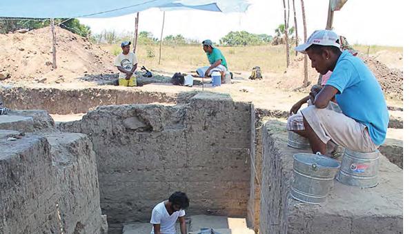 Ученые проводят раскопки акрополя в Рио-Вьехо (Мексика)