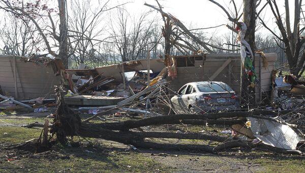 Торнадо в Миссисипи в канун Рождества