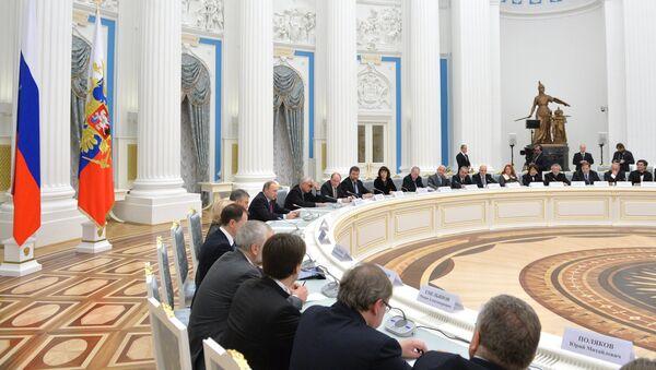 Заседание Совета по культуре и искусству. Архивное фото