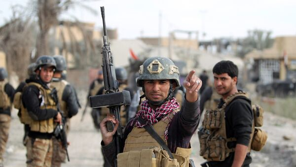 Иракские силы безопасности в городе Эр-Рамади, провинция Анбар. Архивное фото.