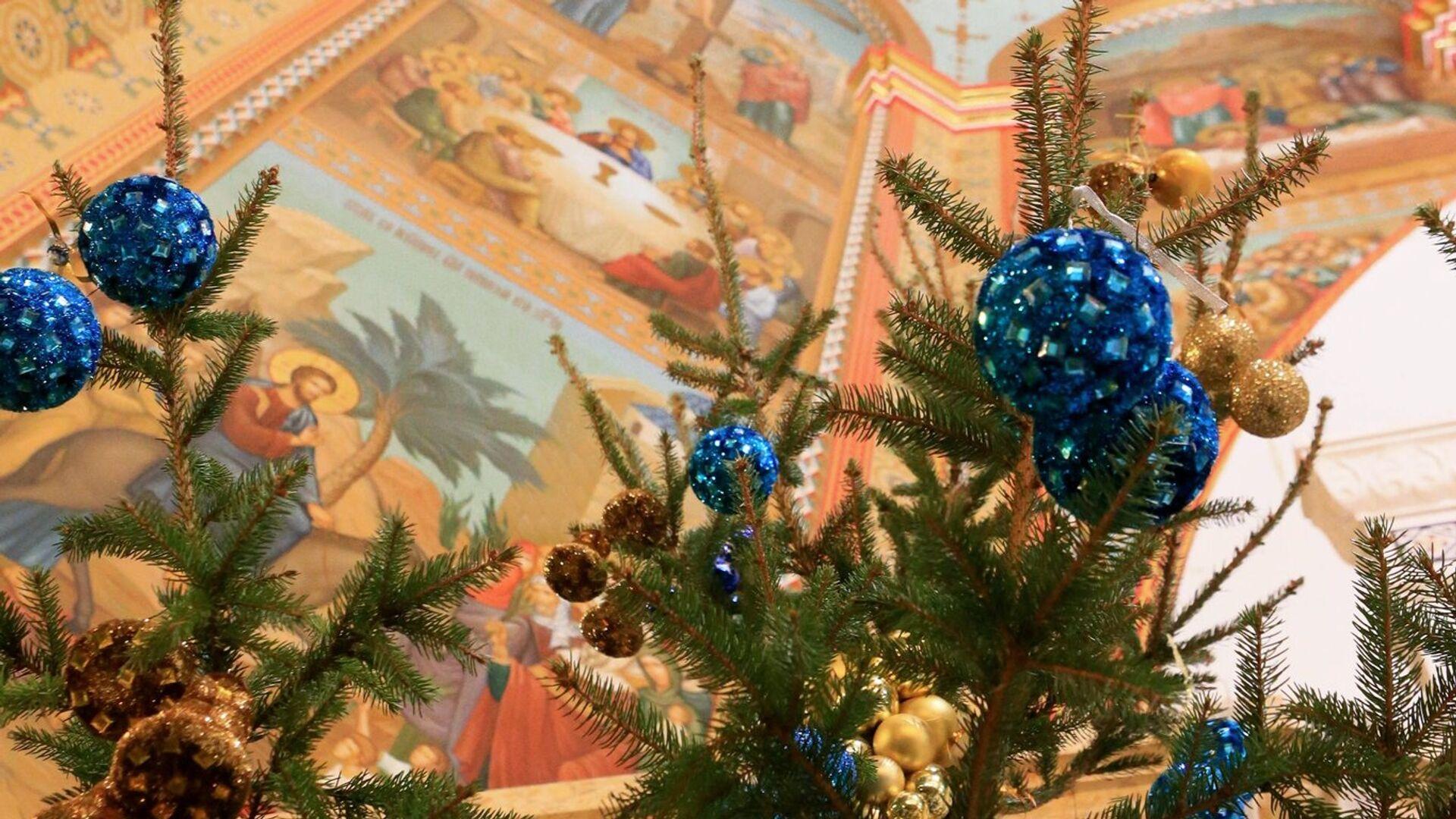Празднование Рождества Христова в городах России - РИА Новости, 1920, 06.01.2021
