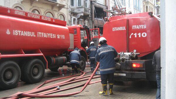 Пожарные в Турции. Архивное фото