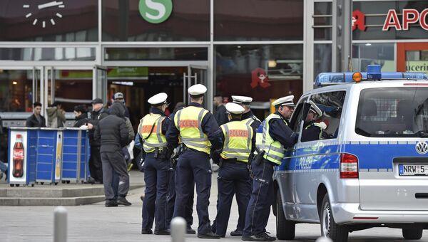 Германская полиция в городе Кёльн. Архивное фото