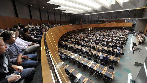 Заседание в штаб-квартире ВТО. Архивное фото
