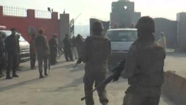 Первые кадры с места нападения террористов на университет в Пакистане