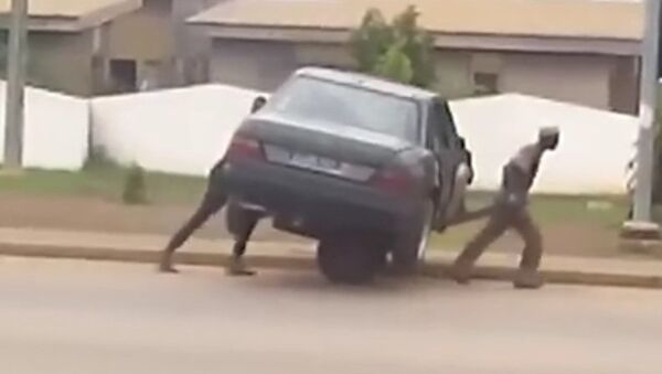 Африканский эвакуатор