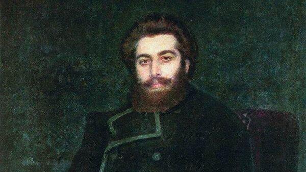 Портрет художника Архипа Ивановича Куинджи (И. Е. Репин, 1877)