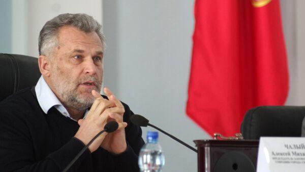 Алексей Чалый на заседании Законодательного собрания города Севастополя. Архивное фото